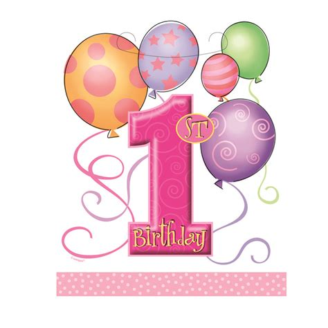 First Birthday Clipart  Clipart Suggest