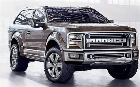 ford bronco exterior  ford