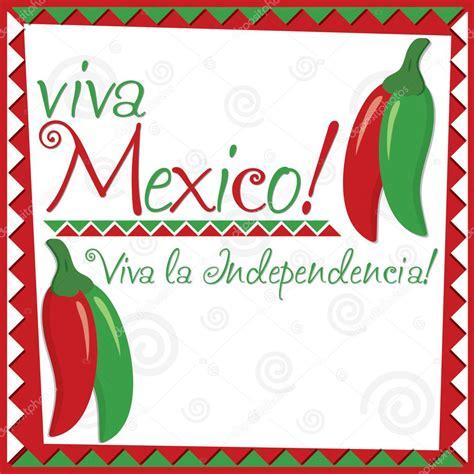 Tarjeta del Día de la Independencia Mexicana — Archivo ...