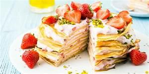 Torte Mit Erdbeeren : pancake torte mit erdbeeren pfiffiges pancake rezept ~ Lizthompson.info Haus und Dekorationen
