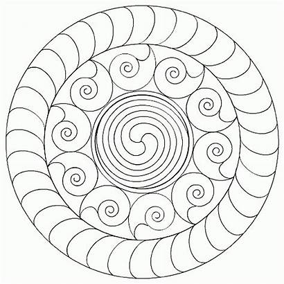 Coloring Mandala Pages Simple Buddhist Mandalas Designs