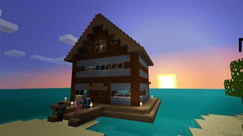 survival island floating house  burntcustard  deviantart
