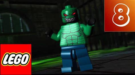 lego batman  video game part  killer croc youtube