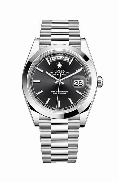 Rolex Date Platinum Watches