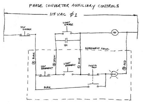 How Build Auto Start Rotary Three Phase Converter