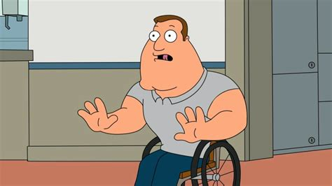 Joe Swanson Meme - 187 even family guy actor patrick warburton gets offended by some of the show s jokes