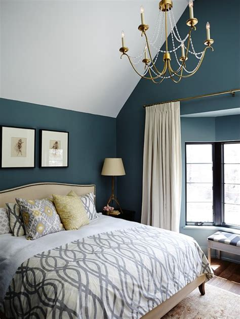 bedrooms wall colors teal bedroom houzz 10795 | aba10b0703399b8b 1275 w500 h666 b0 p0 transitional bedroom