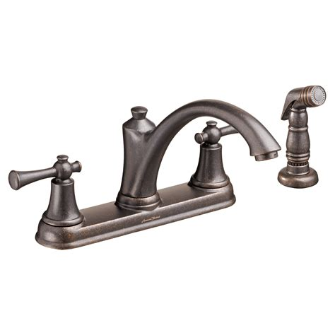 standard faucets kitchen standard portsmouth 2 handle kitchen faucet with