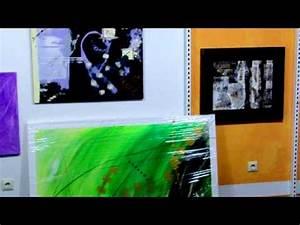Abstrakte Bilder Leinwand : kunstgalerie abstrakte moderne bilder auf leinwand youtube ~ Sanjose-hotels-ca.com Haus und Dekorationen