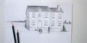 dessin de maison en perspective With apprendre a dessiner des maisons