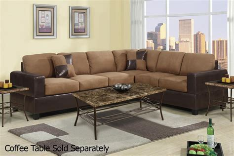 Brown Leather Sectional Sofa   Steal A Sofa Furniture