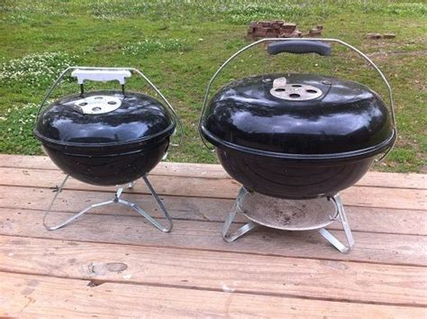 Weber Smokey Joe by Weber Jumbo Joe Vs Smokey Joe Grilling With Gas Or