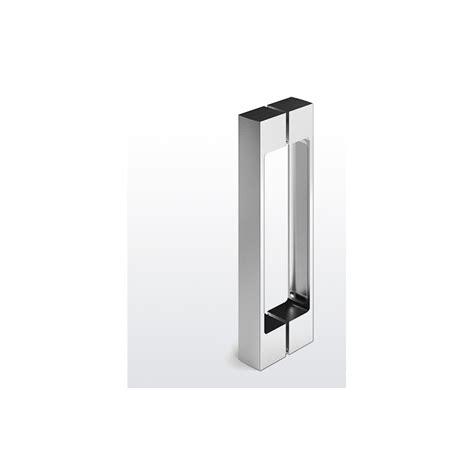 poignee de porte en verre poign 233 e design mt 770 chrom 233 brillant pour porte de en verre