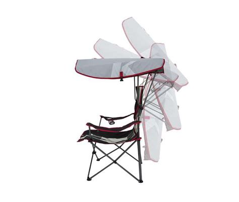 Kelsyus Original Canopy Chair, Red  80187 Vminnovations