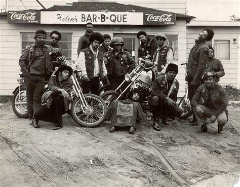 The 1950s All-black Biker Gang