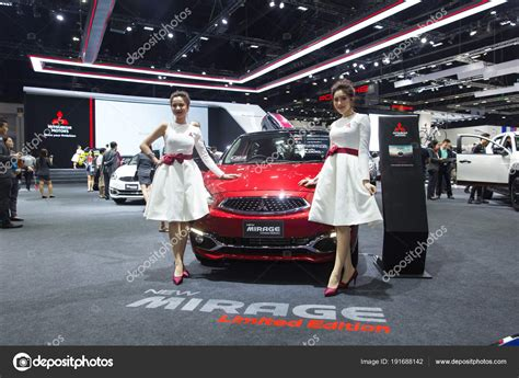 Bangkok International Motor Show 2018 Avec Belle Asiatique