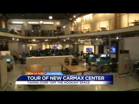 carmax opens downtown richmond office youtube