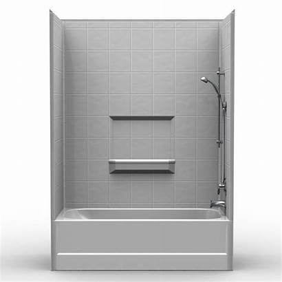 Tub Shower Combo Piece Multi 60 Bestbath