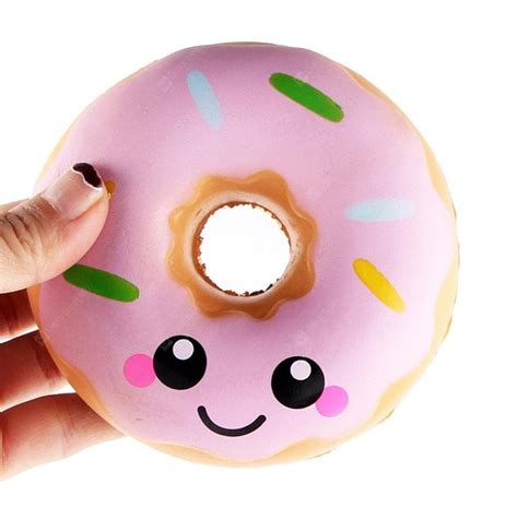 jumbo squishy colorful donuts soft squishy slow rising squeeze kids toy gift 3 59 free