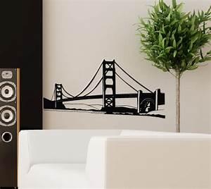 Wandtattoo San Francisco : wandtattoo wandtattoos wandaufkleber online shop aufkleber br cke ~ Whattoseeinmadrid.com Haus und Dekorationen