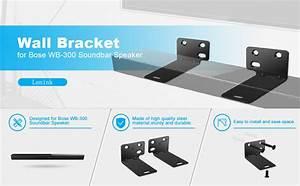 Black Wall Bracket Holder Base For Bose Wb