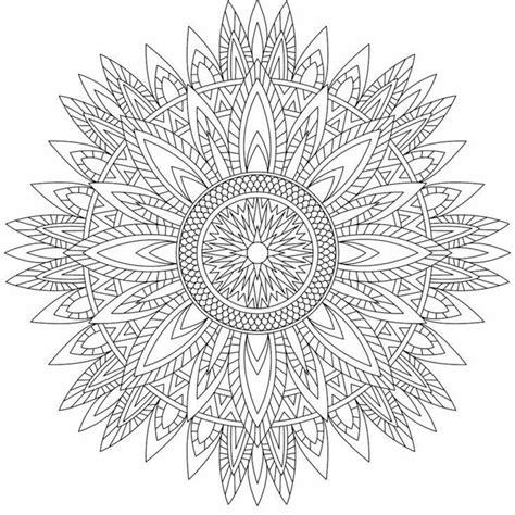 Più difficile è il compito, più gioia e sviluppo si puo' ricevere quando si disegna. Mandala da colorare difficilissimi - BuongiornissimoCaffe.it