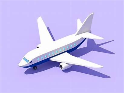 Plane Motion Lyft Animation 3d Graphic Travel