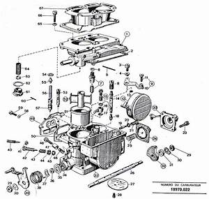 The Weber 42 Dcnf Carburetor On The Citroen Sm