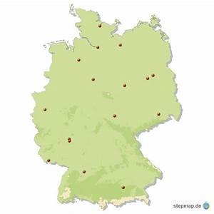 Schönsten Städte Deutschland : deutschland st dte quiz von leifsascha landkarte f r deutschland ~ Frokenaadalensverden.com Haus und Dekorationen
