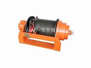 Hydraulic Vehicle Recovery Winch Bulldozer Winch Manufacturer