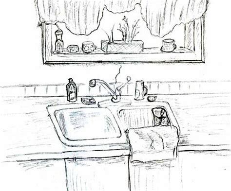 kitchen sink twenty  pilots art sketch coloring page