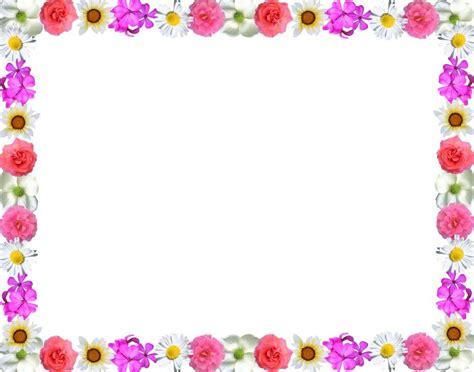 different colorful floral page border design hd sadiakomal