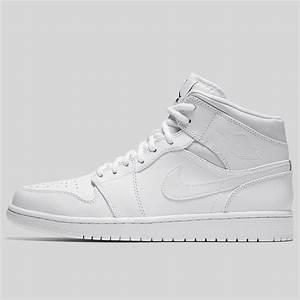 Kobe Sportswear Size Chart Nike Air Jordan 1 Mid Triple White 554724 110 Kix Files