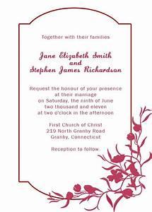 burgundy floral wedding invitation | Printables & Paper ...