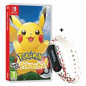 Pokemon Let39s Go Pikachu Nintendo Switch Game GO TCHA