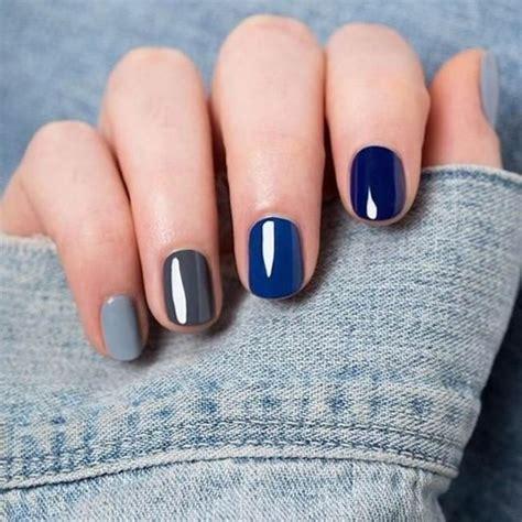 ongle en gel 2017 bleu