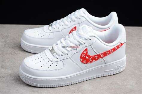 Nike Air 1 Low Supreme by Nike Air 1 X Supreme X Lv Louis Vuitton Custom