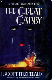 Gatsby Believed In The Green Light by The Great Gatsby Open Library