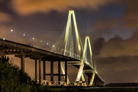 The Amazing Ravenel Bridge In Charleston, Sc.