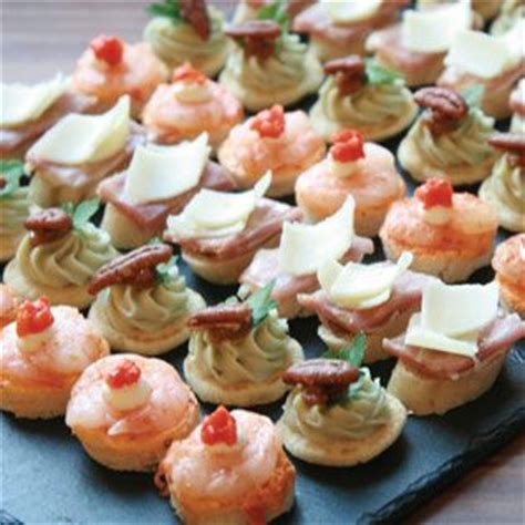 solde canapes cold canapes chic food shops