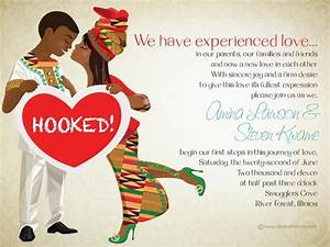 african themed wedding invitations bibi invitations With hindu wedding invitations south africa