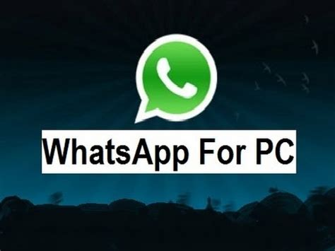 how to install whatsapp on pc for windows 7 8
