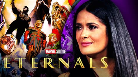 Marvel's Eternals Star Salma Hayek Explains Why MCU Movie ...