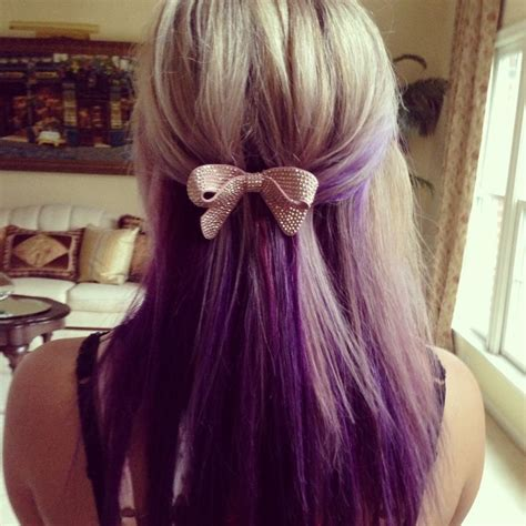 55 Best Images About Blonde To Purple Ombre On Pinterest
