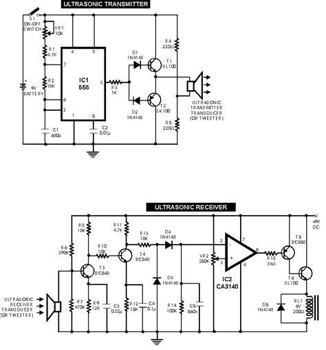 Audio Ultrasonic Circuits Pest Repeller