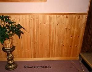 Pose Lambris Horizontal Commencer Haut : la d coration d 39 un mur int rieur ~ Premium-room.com Idées de Décoration