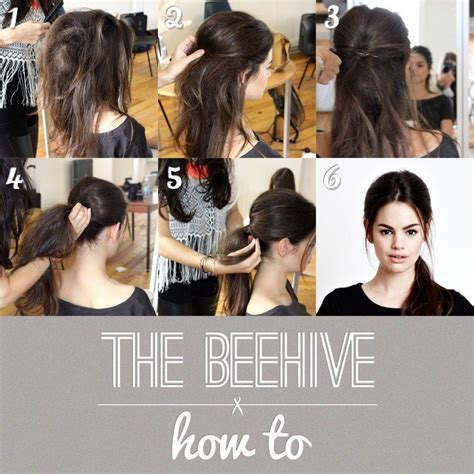 How To Hair by Step By Step The Beehive Hair