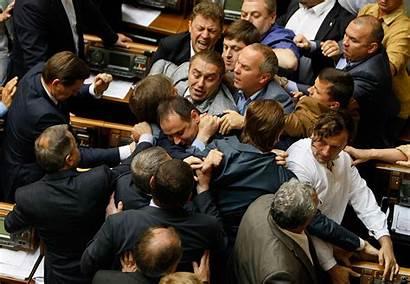 Politicians Fighting Ukraine Parliamentary Punch Ukrainian Ibtimes