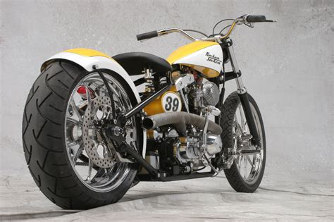 Bobber Motorcycle : Knockout Custom Motorcycles