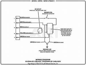 Homelite Ut902211 2250 Watt Generator Parts Diagram For